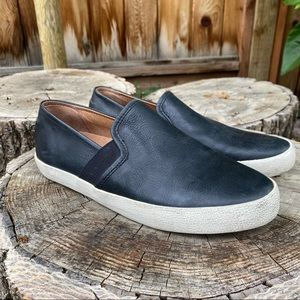 New Frye Dylan Slip On Leather Sneaker 7.5